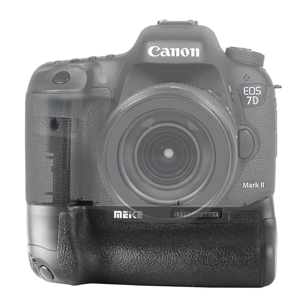 Meike MK-7D2 بطارية مهنية قبضة لكانون EOS 7D2 7D مارك الثاني كاميرات DSLR كما BG-E16