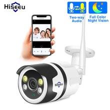 Hiseeu 와이파이 야외 IP 카메라 1080P 720P 방수 2.0MP 무선 CCTV 보안 카메라 금속 양방향 오디오 P2P 총알 ONVIF