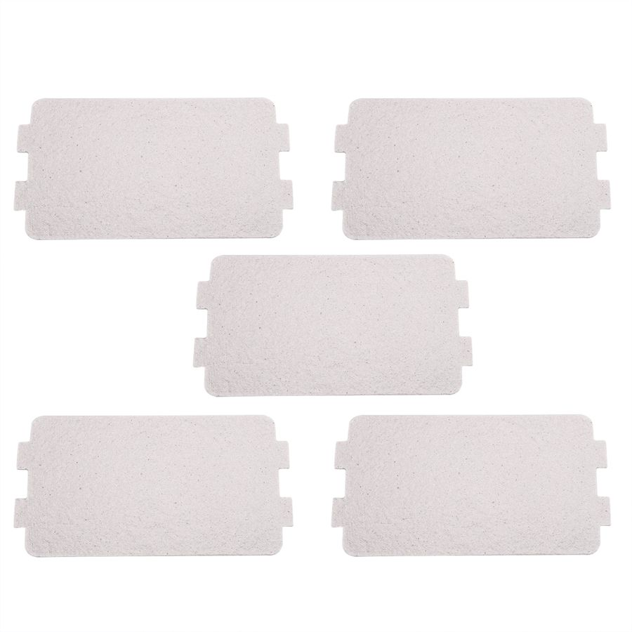5PCS Microwave Oven Mica Plate Sheet Replacement Repairing Accessory For Using In Home Appliances Su