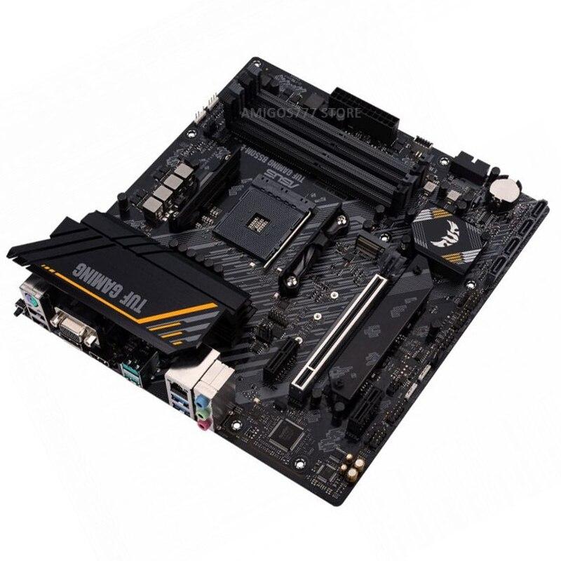 Socket AM4 Asus TUF GAMING B550M-E Motherboard AMD Ryzen 5000/4000G/3000 DDR4 128GB PCI-E 4.0 PC AMD B550 Gaming Placa-mãe AM4