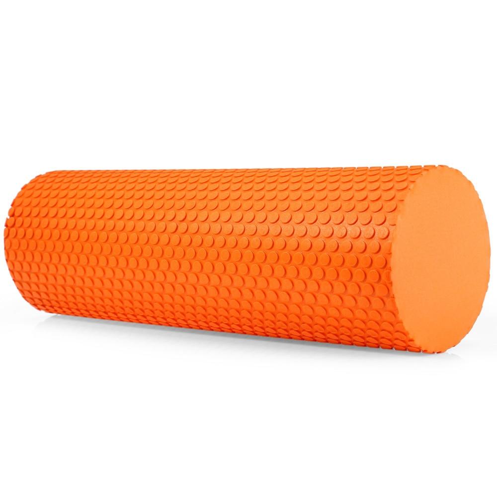 90x15cm eva yoga pilates massage trigger point foam roller exercise fitness gym Yoga Pilates Yoga Block Pilates EVA Foam Roller Massage Roller Muscle Tissue Fitness Gym Yoga Pilates Workout Fitness Exercise