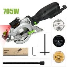"""Circolare Seghe, 4Amp 3500RPM Mini Circolare Seghe con Guida Laser, Max. taglio Depth1-11/16 """"(90 °), 1-1/8"""" (45 °)"""