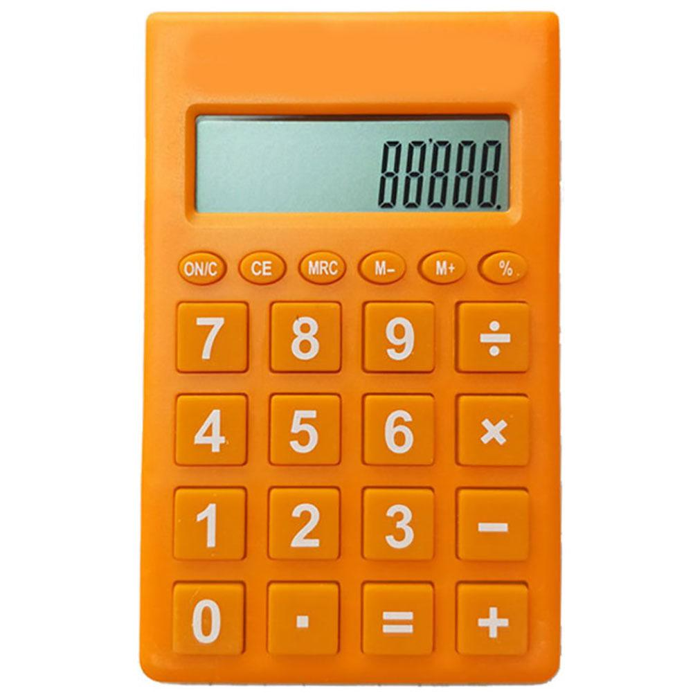 Portátil multifuncional científico electrónico calculadora 12 contador Digital Oficina hogar estudiantes función suministros Color caramelo