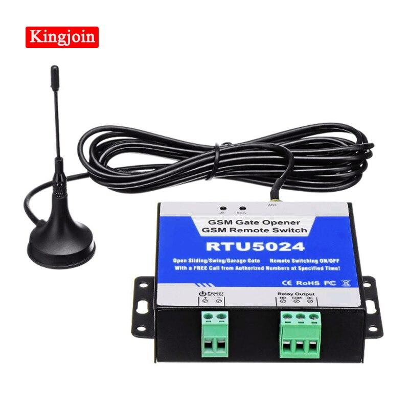 RTU5024 gsm التتابع sms مكالمة تحكم عن بعد gsm بوابة فتاحة التبديل للتحكم في الأجهزة المنزلية (RTU 5024) أنظمة وقوف السيارات