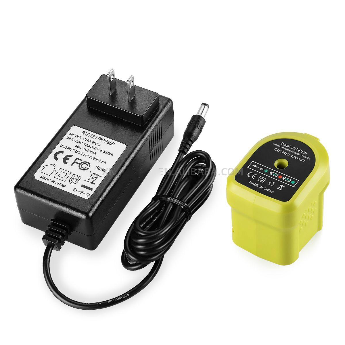 energup 18v p119 um mais ni cd mh li ion carregador fabricante carregador de bateria