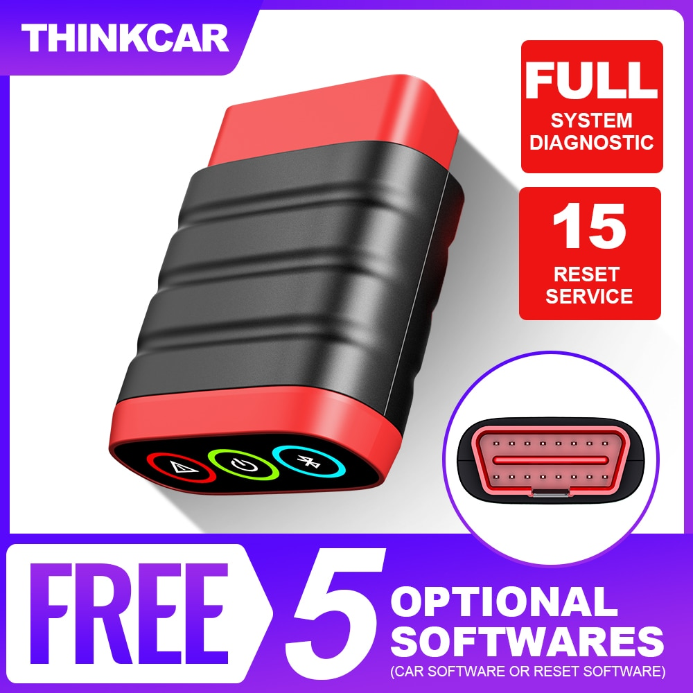 THINKCAR Auto OBD2 Code Reader Thinkdiag Mini Bluetooth Car Scanner Professional PK Easydiag OBD 2 Automotive Diagnostic Tool thinkcar thinkscan 609 obd2 car scanner engine tcm abs srs full system auto code reader obd 2 scanner automotivo diagnostic tool