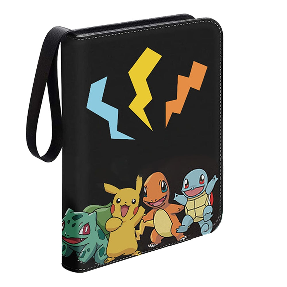 AliExpress - TOMY Pokemon Binder Cards Collectors Album Anime Game Card Protection Portable Storage Case Top Loaded List Toy Gift