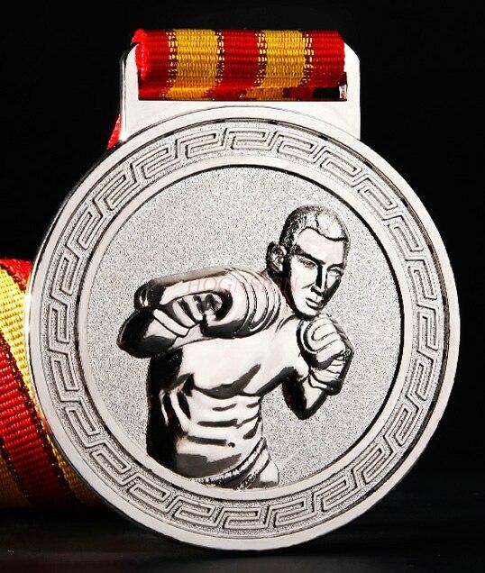 Серебро Бронза медали 2020 медаль Бокс тхэквондо борьба медаль за соревнования Универсальный золота, серебра, меди и медали 2020