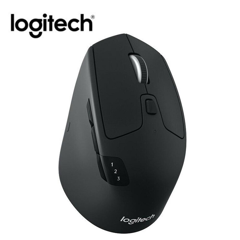 Logitech M720 1000DPI triatlón Bluetooth PC de modo Dual 2,4 Ghz ratón ratones inalámbricos periférico de la computadora Accesorios