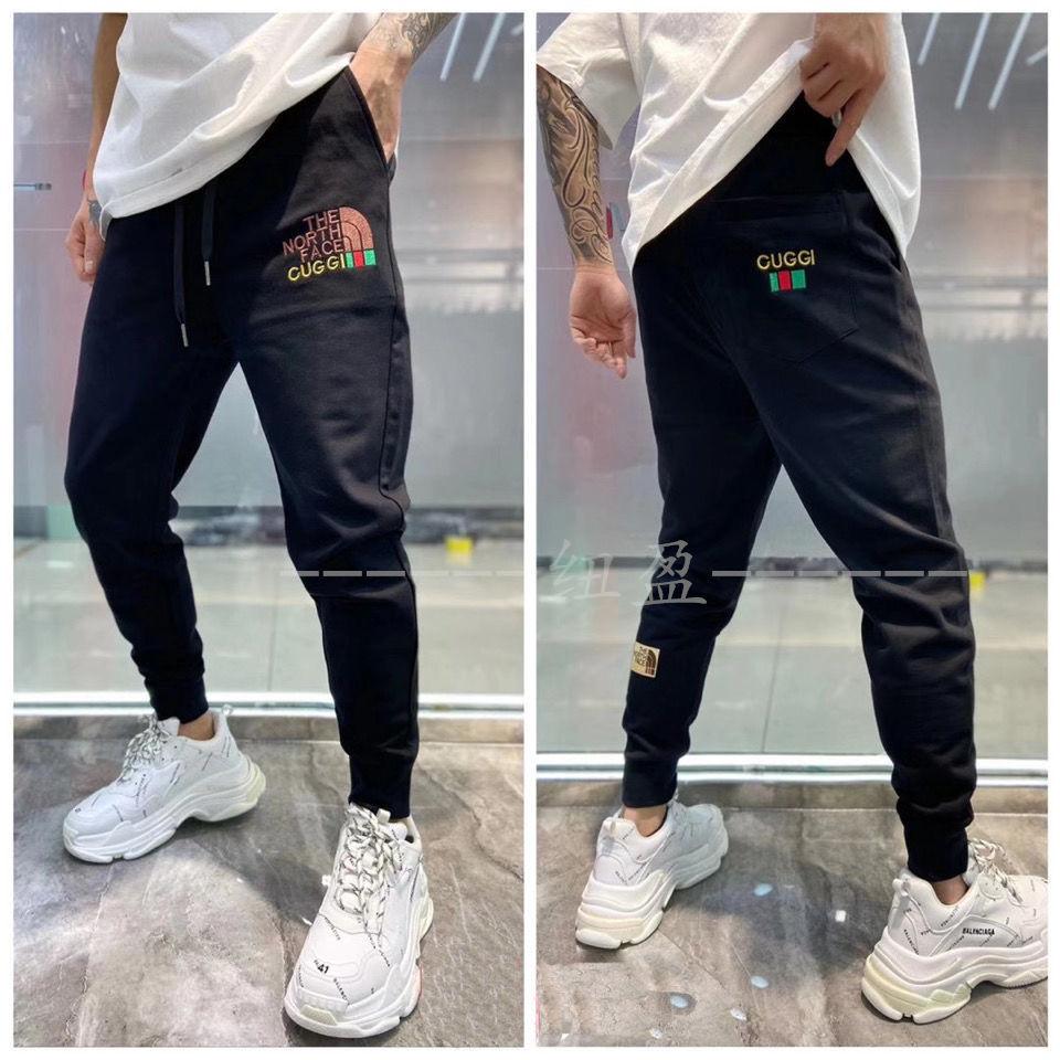 Wei pants men's loose sports pants slim legged pants