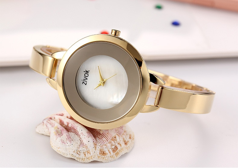 Fashion Rose Gold Women Bracelet Watches Fashion Luxury Quartz-Watches Brand Ladies Casual Dress Sport Watch Clock enlarge