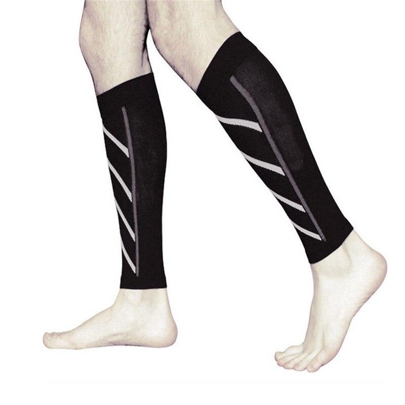 1 par de compressão fina calfskin meias esportivas compressão meias noite correndo náilon fluorescente leggings basquete meias