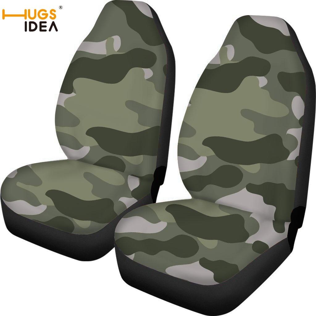 HUGSIDEA Camouflage siège conducteur feuille de Protection couverture de siège intérieur de voiture Anti-poussière preuve Auto accessoires couverture feuille colorée