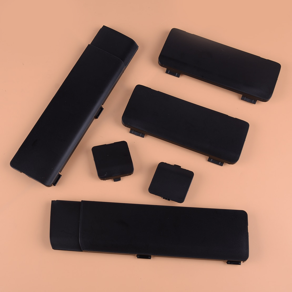 Citall 6 Stks/set Zwarte Auto Auto Dakbagagedrager Cap Verwijderen Verwijderen Cover Fit Voor Honda Crv CR-V 2007 2008 2009 2010 2011