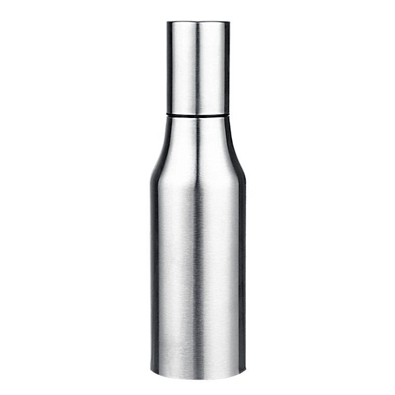 Aço inoxidável à prova de vazamento do potenciômetro do óleo de cozimento do assado do óleo da especiaria do frasco do molho do vinagre dispensador da garrafa acessórios de cozinha