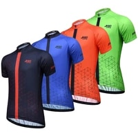 new cycling jersey tops men summer cycling clothing ropa ciclismo short sleeve mtb bike jersey shirt maillot ciclismo wholesale