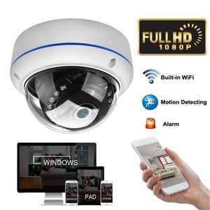HD 1080P Motion Detecting Infrared Night Vision Wireless WiFi Dome IP Camera Onvif POE 12V Outdoor IR Speed Dome CCTV Security