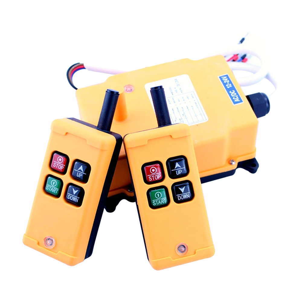 YNieDer 2 Tansmitters 4 قنوات 1 سرعة التحكم مرفاع متنقل راديو نظام التحكم عن بعد XH00005