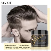 sevich hair styling clay gel 80g strong hold for men hairstyles wax long lasting stereotype easy wash smooth modeling mud cream