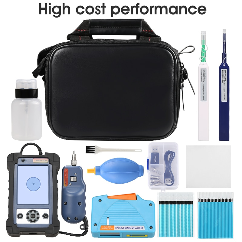 Fiber Optic Cleaning Kit With inspection Video microscope inspection probe 1.25/2.5 mm Cleaner Pen