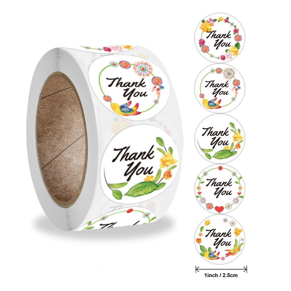 sello-de-pegatinas-de-agradecimiento-pegatinas-de-flores-para-regalo-hecho-a-mano-o-decoracion-de-boda-pegatinas-de-papeleria-50-500-uds-nuevo