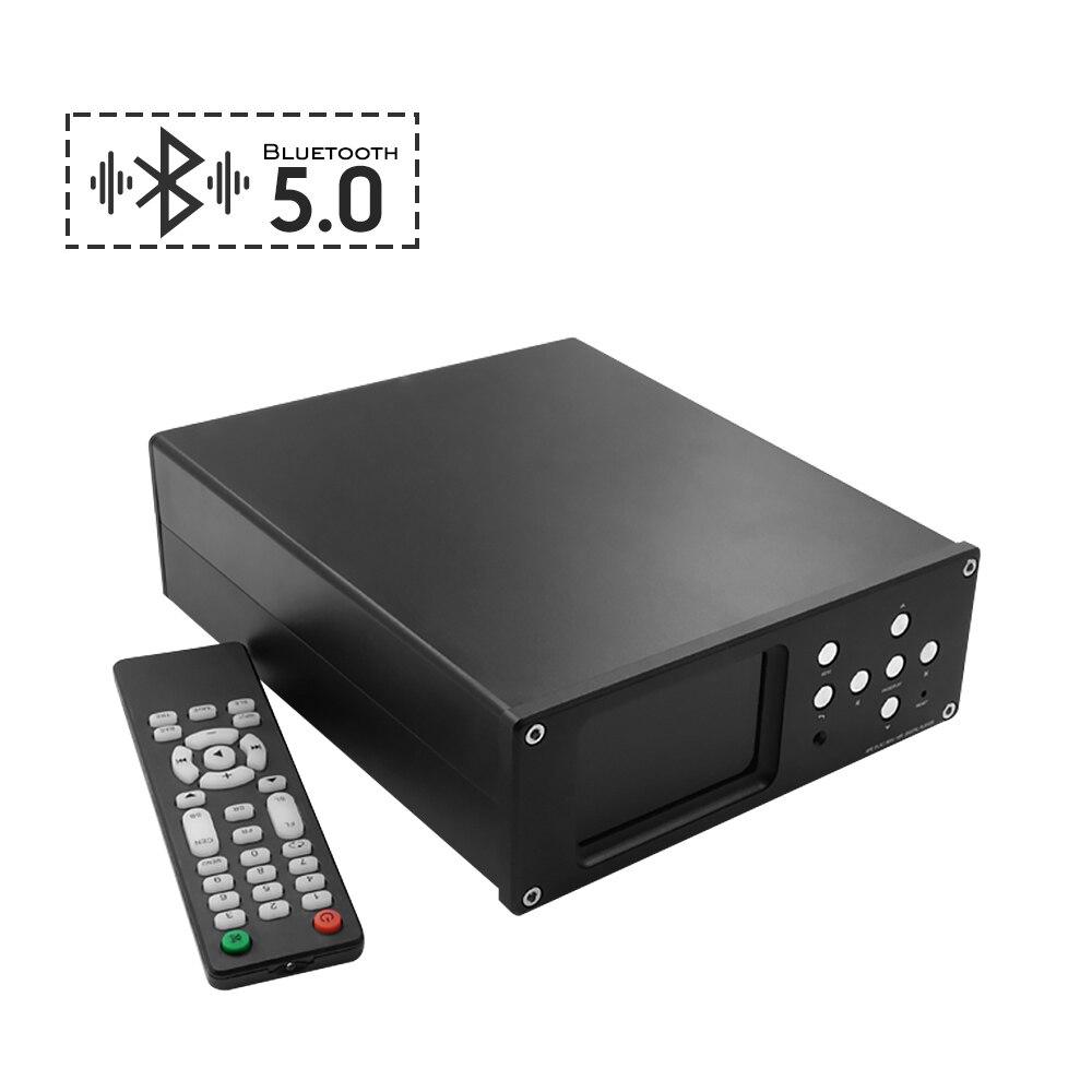 AIYIMA APTX-HD Bluetooth 5,0 Digital decodificador de Audio DAC USB SD AK4495 sin pérdida de decodificación LCD reproductor de música de cine en casa
