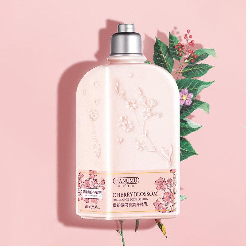 Фото - cherry blossom 240g body lotion smooth moisturizing whitening cream body butter Female whitening lotion skin lightening cream too faced butter cream
