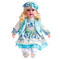 53cm colorful clothing cute girl doll kids companion figure doll toy for girls stuffed reborn baby doll