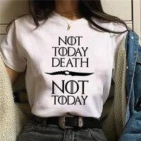 2021 womens t shirt nope not today satan harajuku t shirt ullzang kawaii top t shirt ladies cartoon printing oversized t shirt