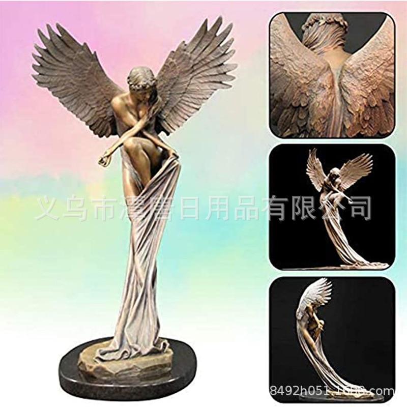 Креативный выкуп новых продуктов, украшения из смолы ангела, украшения, запрещенные декоративные украшения