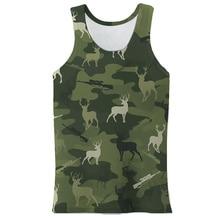 2021 Summer 3d Printed Men Vest Casual Tank Tops Sleeveless Male Bodybuilding Clothing Vest Singlet