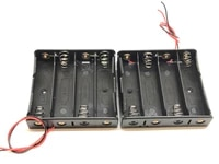 masterfire 500pcslot plastic 18650 battery storage case box holder container with wire leads for 4 x 18650 3 7v batteries