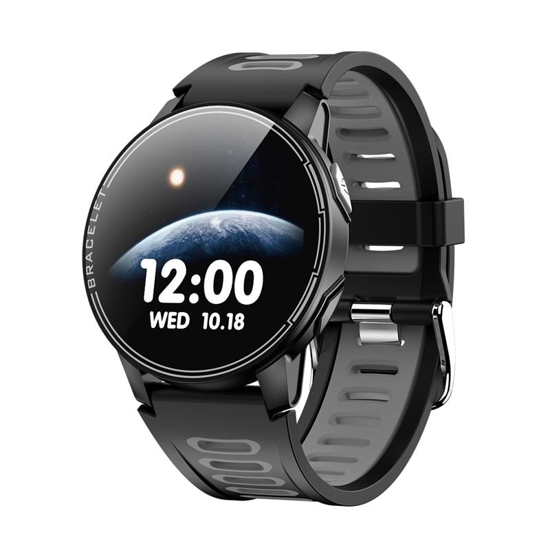 Смарт-часы S SENBONO S20, мониторинг сердечного ритма, кровяного давления, полный пресс, цветной экран, водонепроницаемый смарт-браслет