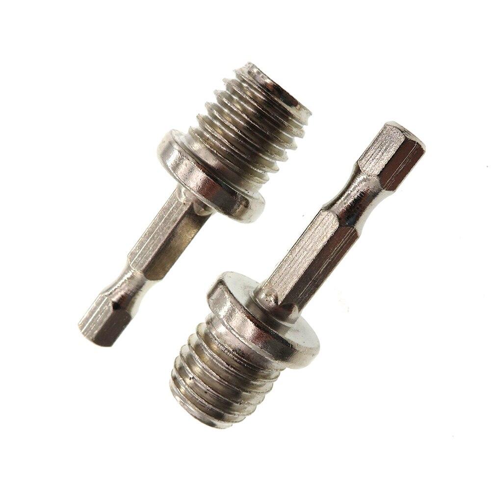 Hexágono de conexión adaptador de barra Chuck M14 Metal hexagonal varilla de conexión