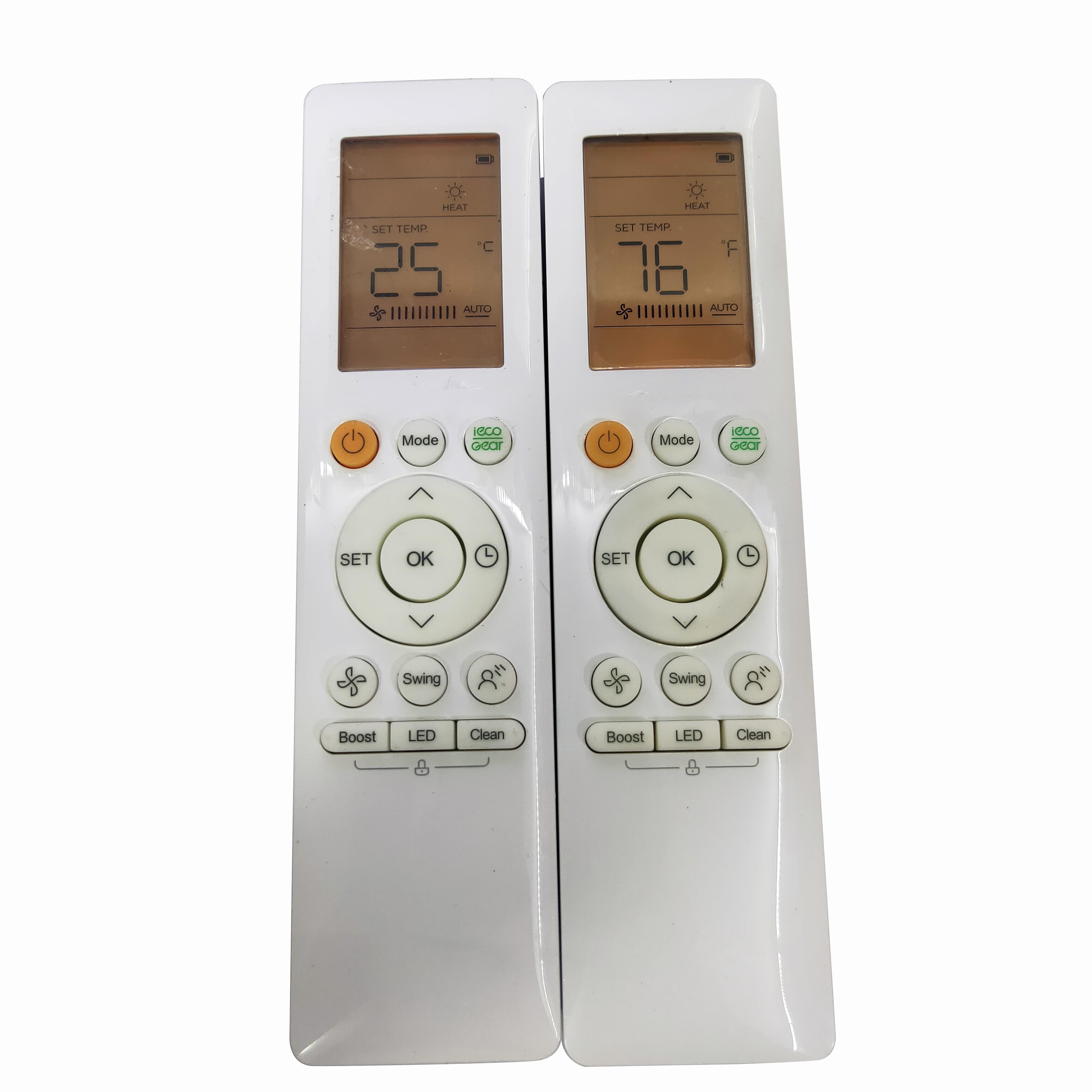 Novo original rg10a (b2s)/bgef rg10a (b2s)/bgef1 para midea ar condicionado controle remoto ac fernbedienung