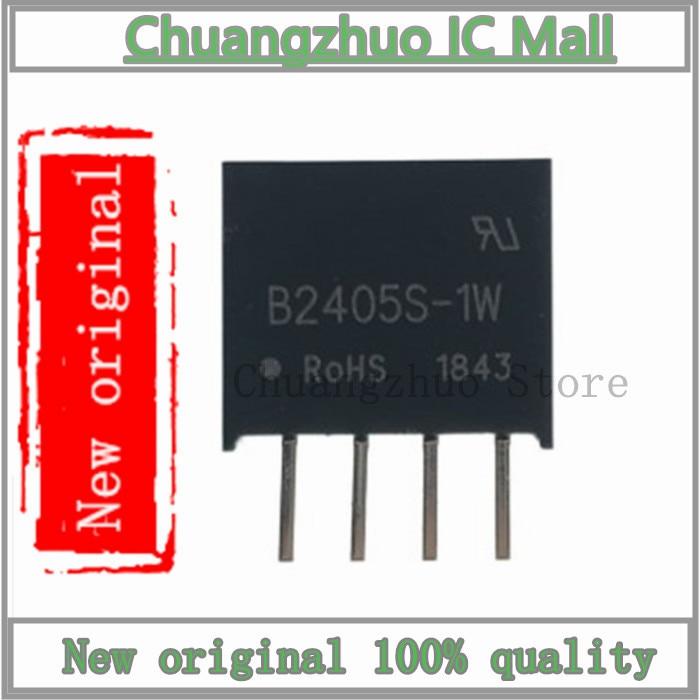 1 pçs/lote B2405S-1W sip-4 b2405s sip4 b2405 2405 dc/dc 24 v para 5 v isolado módulo de potência ic chip novo original