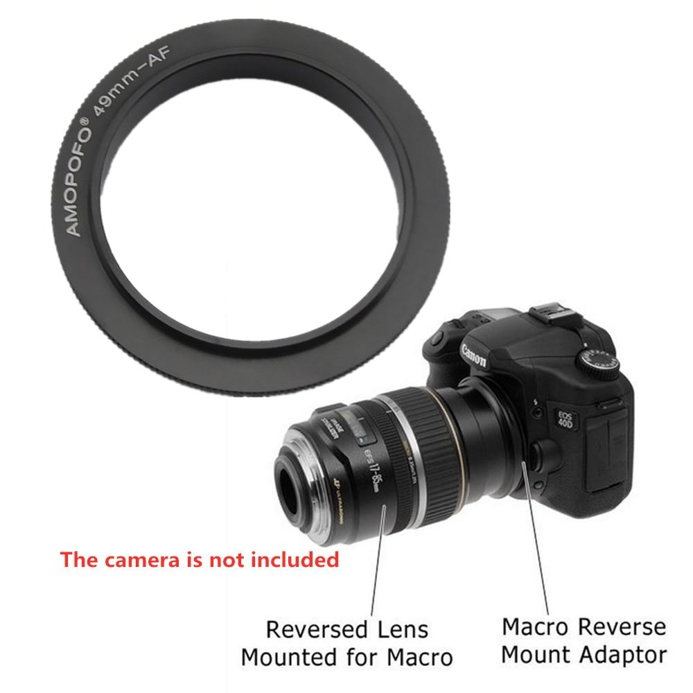49/55/58 ~ 77 мм Макро Обратного Адаптера Кольцо для Sony Alpha Minolta MA адаптер объектива подходит A58 A550 A33 A900 A350 A33 A55 A35 7D 5D