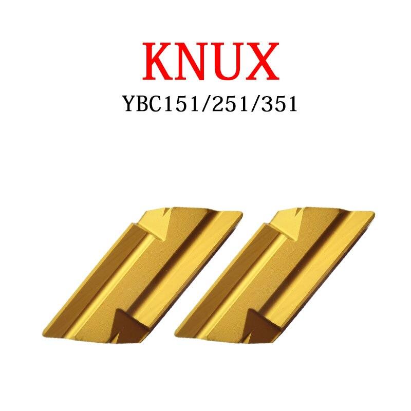 KNUX KNUX16 KNUX160405L11 YBC151 KNUX160405L12 YBC251 KNUX160405R11 YBC351 KNUX160410R12 تحول إدراج ل CNC أداة القاطع