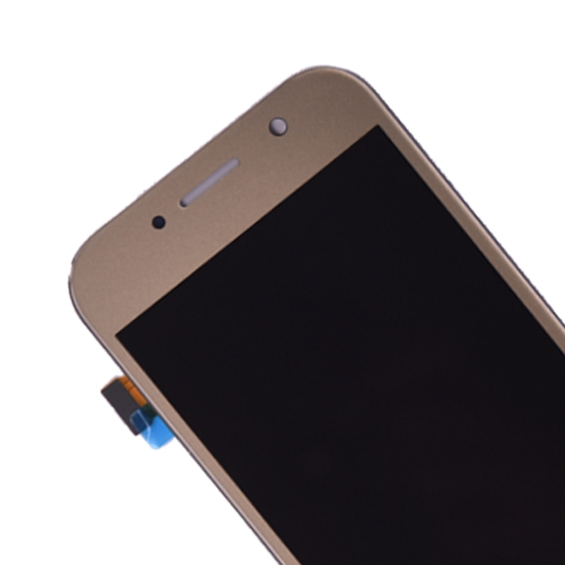 Super Amoled For SAMSUNG GALAXY A5 2017 A520 A520F A520K LCD Display with Touch Screen Digitizer Assembly enlarge