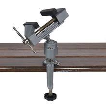 360 grados de rotación Mini tornillo de precisión de la abrazadera del Banco de vicio giratorio de la abrazadera de la cerradura