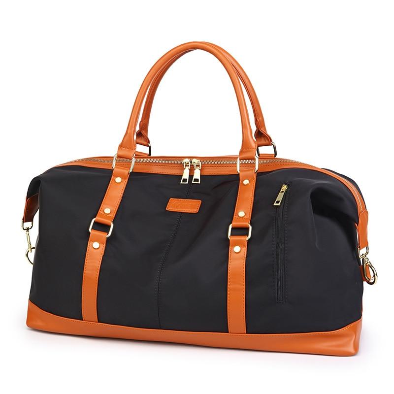 Женские холщовые водонепроницаемые дорожные сумки для хранения, спортивные сумки для фитнеса, Короткие дорожные сумки большой вместимости...