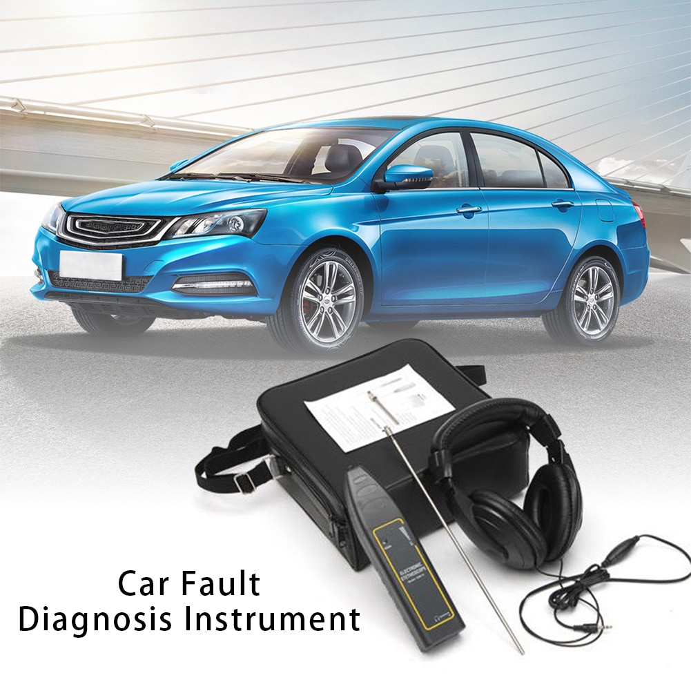 Auto Electronic Stethoscope Car Audio Instrument Car Engine Stethoscope Car Abnormal Detection Tool Noise Detection Everybody