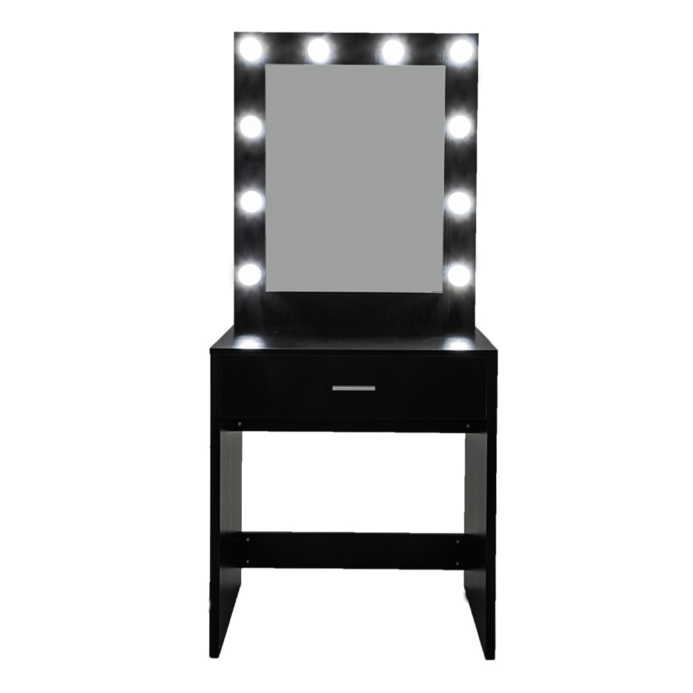 [US Warehouse] FCH, большой Зеркальный туалетный столик с Одним Выдвижным Ящиком