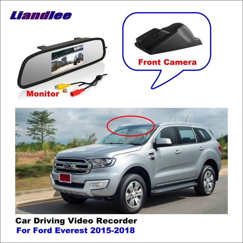 Liandlee para Ford Everest 2015-2018 DVR del coche de conducción grabadora de vídeo, Mini cámara Wifi Dash Cam 96655 de 1080P
