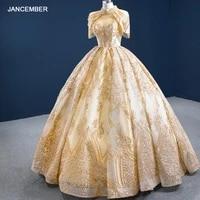 rsm67189 luxury elegant high neck applique print tassel evening party dress 2021 deep v neck back lace up banquet skirt