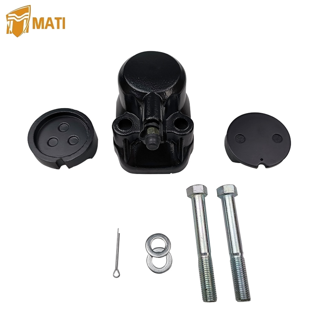 Mati Front Brake Caliper Kit with Pads for Honda CB350F CB350G CB360 CB360G CB360T CB400F CB450K CB500 CB500T CB550F CB550K A