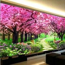 DIY 5D Diamond Painting Landscape tree Full Diamond Embroidery Scenery garden Cross Stitch Home Deco