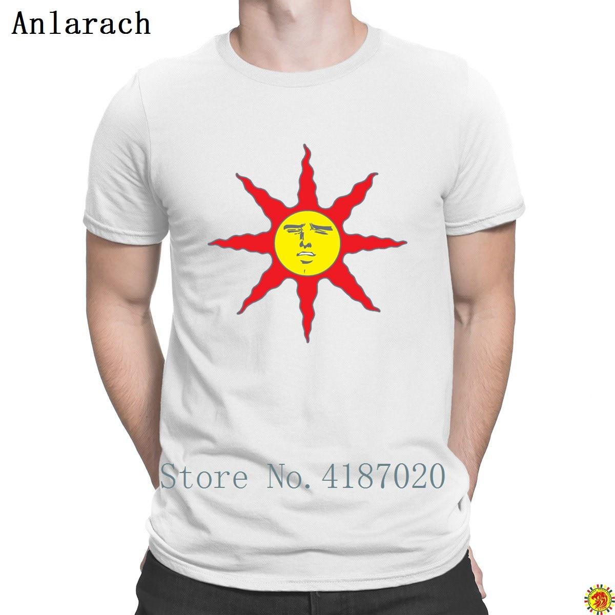 Camiseta Senpai Sun interesante impreso sitios web camiseta más nueva para hombres Camisetas cuello redondo de primavera Natural