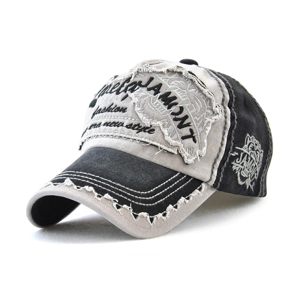 Best Selling Tiger Head Sun Visor Ladies Embroidered Baseball Hats Men's Outdoor Leisure European An