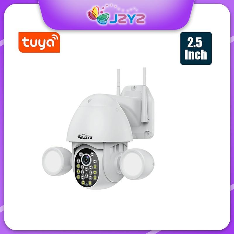 3MP الكاشف كاميرات المراقبة مع واي فاي تويا Smartlife جوجل اليكسا AI السيارات تتبع كشف الحركة CCTV فيديو الأمن